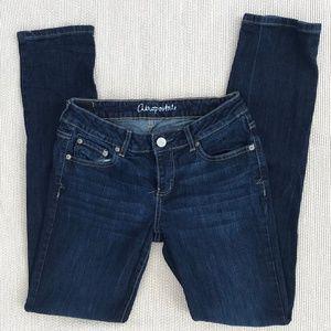 Aeropostale Blue Denim Skinny Jeans